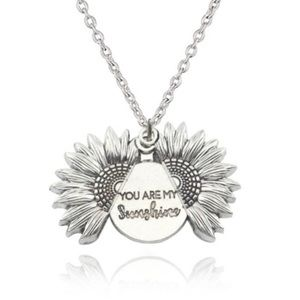 🆕 You are My Sunshine Open Locket Necklace